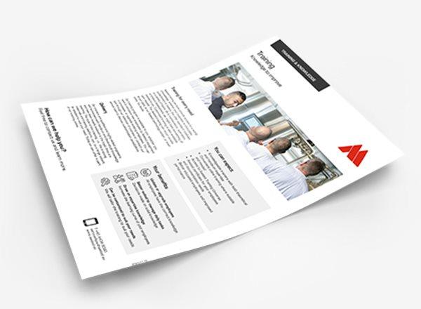 Online Aasted brochures